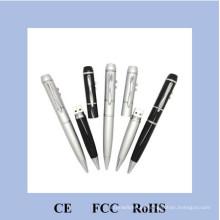 Popular de la boda regalo Pen Drive USB impresión con su nombre H-3203