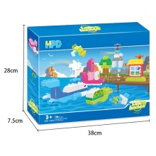 Educational Children's Plastic Building Blocks Bricks Toys