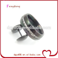 Cheap high quality diamond stainless steel rings jewelry
