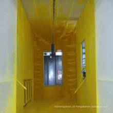 Cabine de pulverização do revestimento do pó da mudança da cor