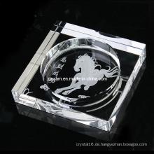 Customize Günstige Glas Crystal Funny Aschenbecher Antikglas Aschenbecher