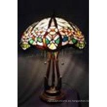 Decoración para el hogar Tiffany lámpara de mesa de la lámpara T16707s