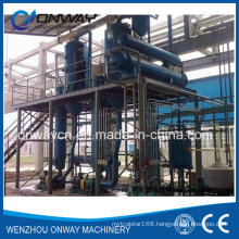 Shjo Stainless Steel Titanium Vacuum Film Evaporation Crystallizer Salt Water Waste Water Evaporator