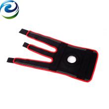 Soporte elástico de la correa del apoyo de la rodilla del material para el uso en el hogar
