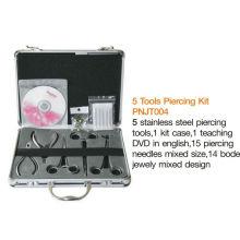 2013 профессиональный набор инструментов для пирсинга ушей и пирсинг пистолет и набор инструментов для ювелирных изделий на продажу