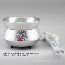 15CE23909 Queimador de Tartar elétrico chapeado prata