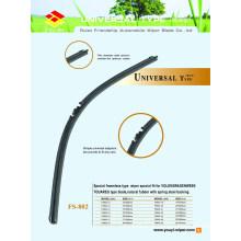 Long Lifespan Universal Universal Wiper Blade com um resgate de borracha de grau