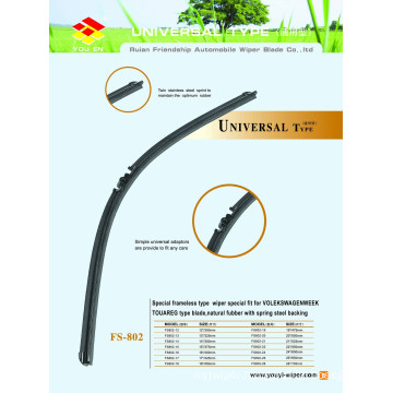Long Lifespan Latest Universal Wiper Blade with A Grade Rubber Refill