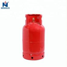Dominica 12.5kg cilindro de gas glp bien recibido, botella para cocinar