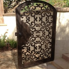 Laser Cut Metal Gate Designs