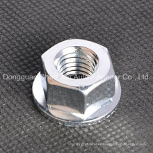 Hex Flange Nut Carbon Steel Zinc Plated