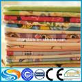 Tecido de algodão tecido personalizado para camisa de flanela
