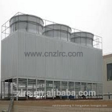 Type de remplisseur de PVC Traverser la tour de refroidissement d'eau rectangulaire