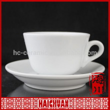 HCC porcelain disposable cup and saucer