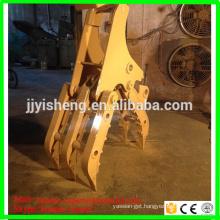 high quality PC120 excavator bucket Grapple bucket hitachi ex120 grab bucket