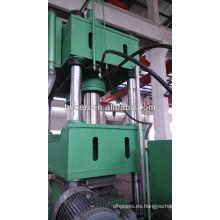 Cuatro columnas tipo máquina de prensa hidráulica de tracción profunda 1500T