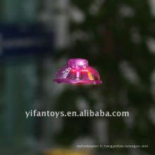 2CH mini ufo infrarouge avec lumière, ufo infrarouge, led ufo volant