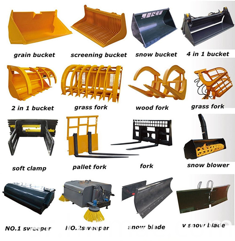 accessories for wheel loader 1