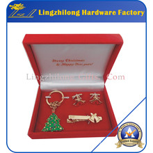Christmas Holiday Decoration Metal Gifts Set