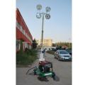Luz de exterior utilizada para equipos de torre de luz portátil
