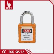 Candado de seguridad Candados cortos BD-G57 con llave idéntica, candado de color para etiquetas de bloqueo