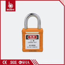 Safety Padlock Short padlocks BD-G57 Keyed Alike, Color Padlock for lockout tagout
