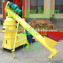 Máquina de compressão de briquetes de biomassa serragem