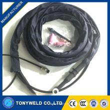 Wp17 luftgekühlte argon gas tig schweißbrenner