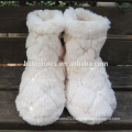 Cheap sequins boots pretty home boot for women white plush warm home boot