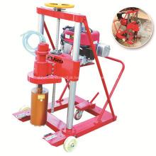 Máquina de perfuração de concreto portátil para superfície