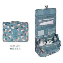 Saco de armazenamento de nylon colorido com capa de armazenamento dobrável de gancho
