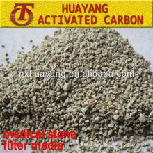 Medio filtrante de piedra maifan de 2-4 mm para tratamiento de aguas residuales