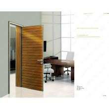 Modèles de porte en bois de conception professionnelle, porte de couleur pourpre, portes prêtes à l'emploi