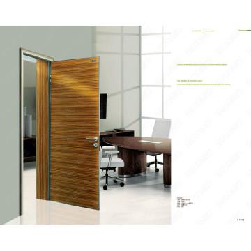Professional Design Wood Door Models, Purple Color Door, Ready Made Doors