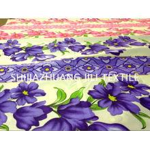 2015 nouveau design / polyester / imprimé / draps / literie / tissu pongé