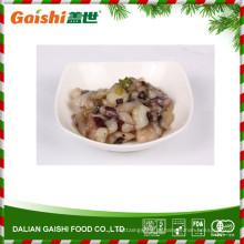 Polvo cozido temperado com wasabi