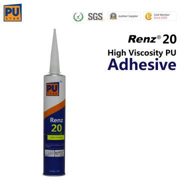 Sellador de poliuretano auto Glass 310ml Renz 20