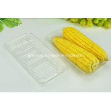 China Factory Plastikplatte ohne Deckel für Obst (PET Tablett)