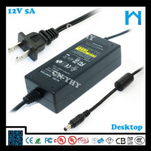 swithcing power supply adapters speakers ac dc adapter for hp printer 12V 5A UL CE GS SAA 60W