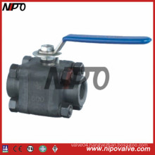 3-PCS Forged Steel Floating Ball Valve