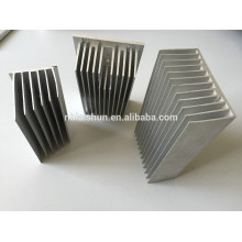Led wall washer extrusion aluminum heat sink