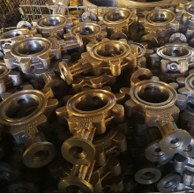 GGG40 Ductile Iron Casting Valve Body for Germany