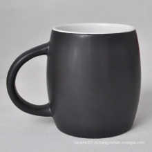 Керамическая кружка из матового глазированного кофе