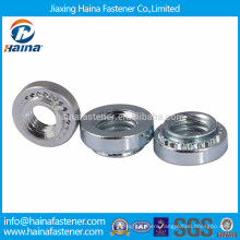 China supplier zinc plated PEM captive nut insert