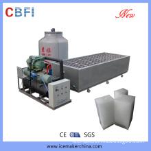 Brine Refrigeration Guangzhou Ice Block Making Machines