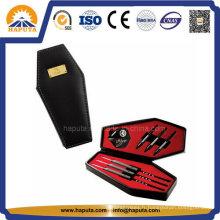 Similicuir noir cercueil Dart cas HS-6008