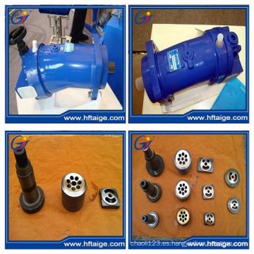 Motor hidráulico de diseño axial doblado
