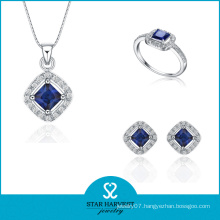 Sterling Silver Jewelry Wholesale Jewelry Set Pendant and Ring (J-0018)