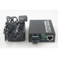 Mod Single SFP POE Fiber Media Converter