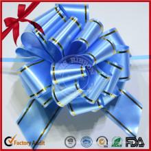 Bricolage Pâques POM POM Pull Ribbon Bow avec chaîne en or